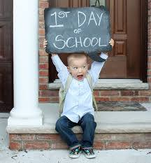 Ist Day of School